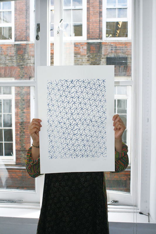 Screen Print Japanese Pattern - product images  of