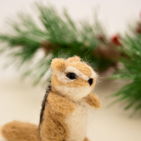 Chipmunk,needle,felted,miniature,ornament,Art,Sculpture,Animal,miniature_chipmunk,felted_chipmunk,woodland,miniature_animal,brown,woodland_animal,chipmunk_sculpture,Animal_sculpture,Felted_animals,Chipmunk_ornament,Chipmunk_figurine,wool roving