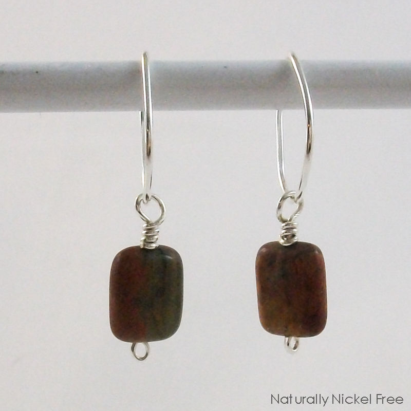 and andrew earrings sterling silver rodriguez turtle jasper
