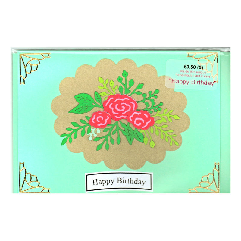 Handmade Birthday Card By Chriss Cards Inspired Glass