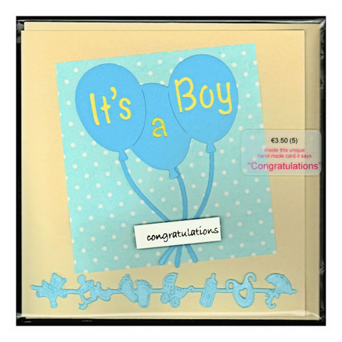 Handmade,'Baby,Boy,card,by,Chris's,Cards,inspired-glass, chris's cards, handmade cards, baby boy cards, greeting cards
