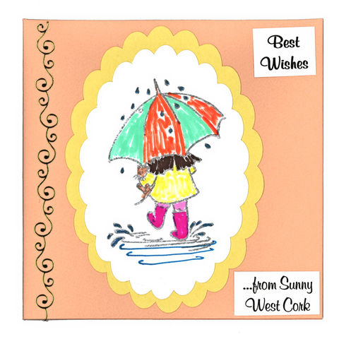 Handmade,'Sunny,West,Cork,card,by,Chris's,Cards,inspired-glass, chris's cards, handmade cards, sunny west cork, greeting cards