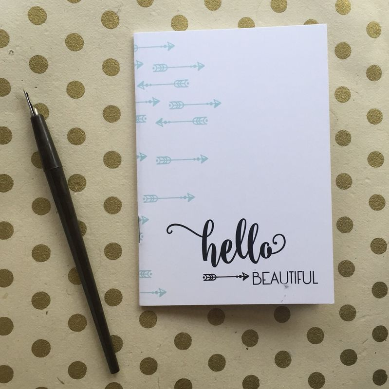 Hello Beautiful Notebook - product images  of