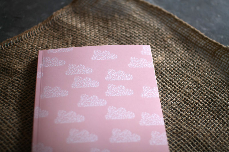 Pink Clouds Notebook - product images  of