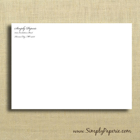 Add-on:,Printed,Envelopes,envelope, invitation, printed, matching