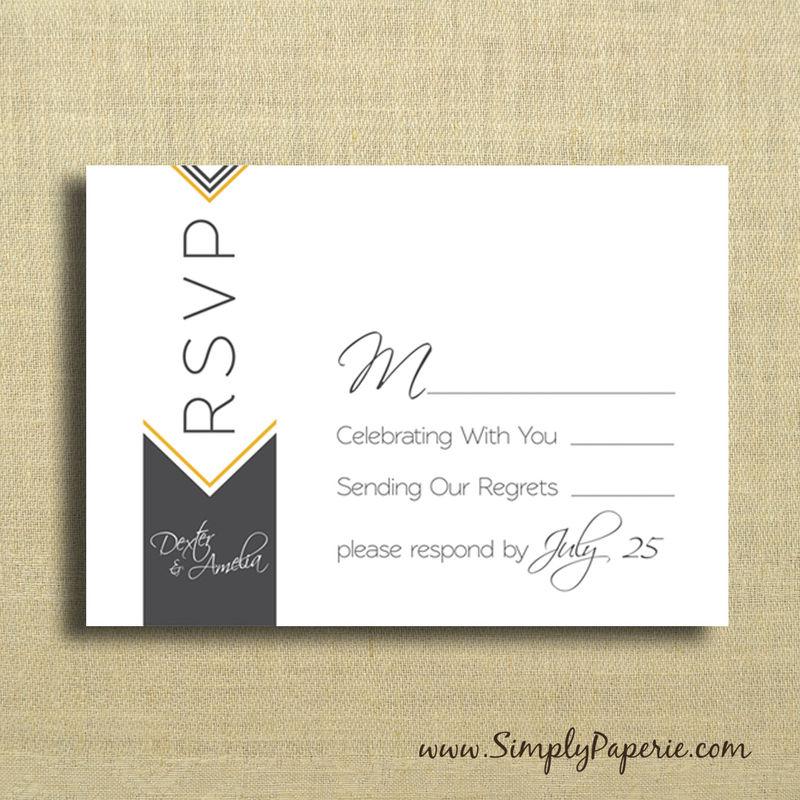 invitation and rsvp