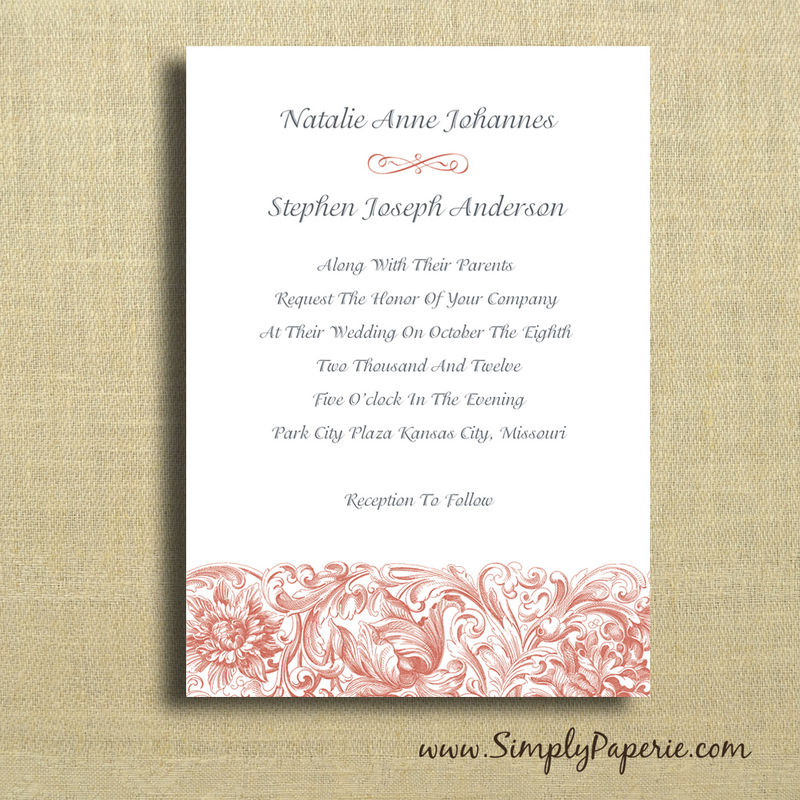 Wedding Invitations Collection - Simply Paperie