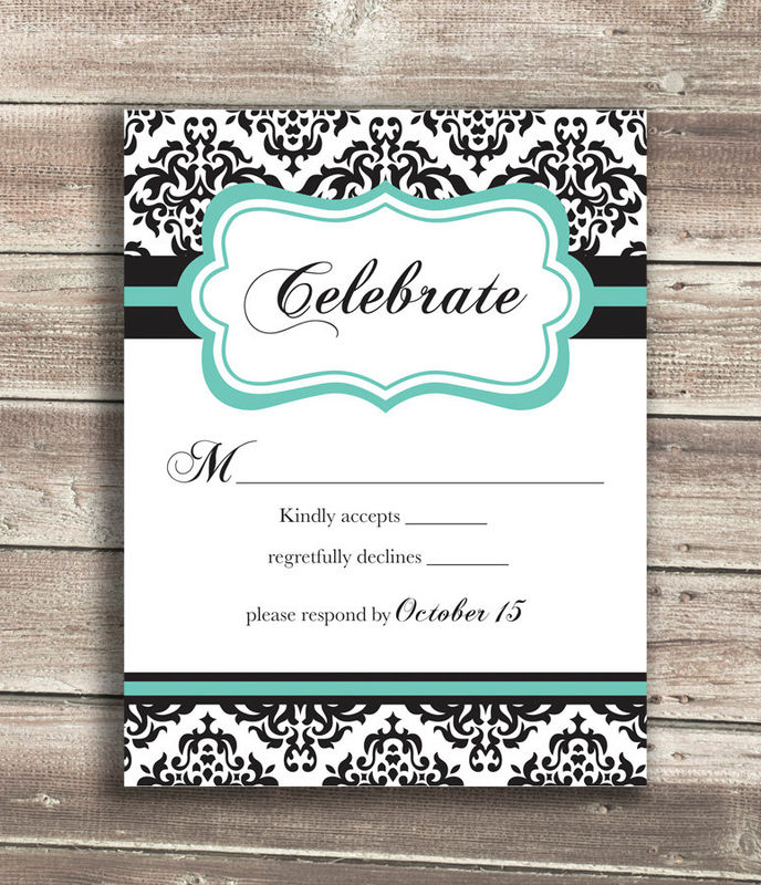 Damask Wedding Invitations - product images  of