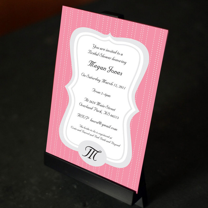 Polkadot Frame Invitation - product images  of
