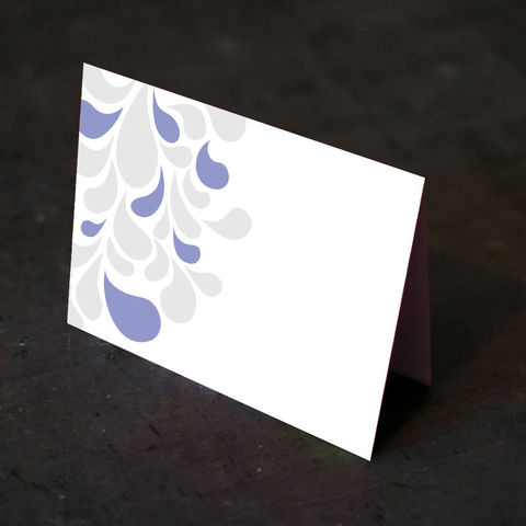 Swirl,Foldover,Cards,Paper Goods, Cards, Blank, bright, cheerful, party, foldover, modern, geometric, casual, contemporary, purple, teal, grey, notecard, swirl, The Artisan Group