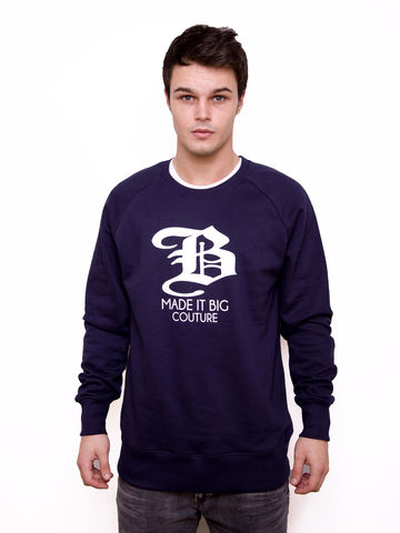 Big,B,Sweatshirt,Jumper, crew neck, crew, madeitbig, made, it, big, big b