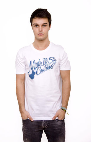 Made,It,Big,Couture,White,Tee,T-shirt, tshirt, tee, couture, madeitbig, made, it, big, made it big