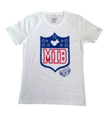 MIB,Sports,Shield,SS13,Tee,T-shirt, tshirt, tee, madeitbig, made, it, big, shield