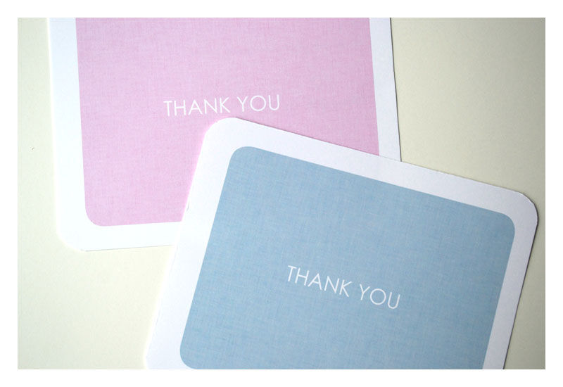 Children's Fill in the Blank Thank You Notes - product images  of
