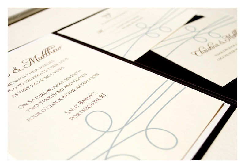 Wedding Invitation Simple and Elegant - product images  of