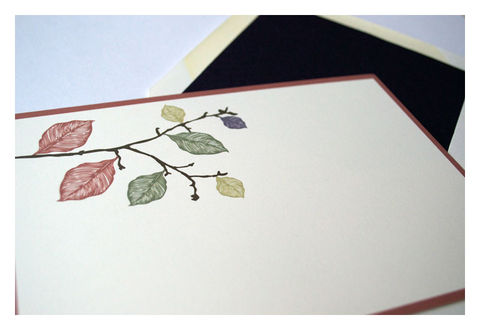 Fall,Leaves,Design,Personalized,Stationery,Flat,Note,Card,Paper_Goods,Set,personal_notes,stationery_set,flat_note_cards,elegant,simple, leaves, tree branch, silhoutte, personalized,chocolate, brown, pumpkin, orange,green, purple, earth tones, fall, jewel tones,the_artisan_group,sparetire_design,branch