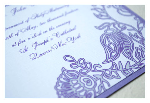 Henna,Block,Print,Wedding,Invitations,Weddings,Invitation,henna,wedding_invitation,traditional_invites,lavender, gray, romantic, flowers,stationery,special_event,quality_invitations,traditional_wedding,elegant,simple_invite,quality_materials