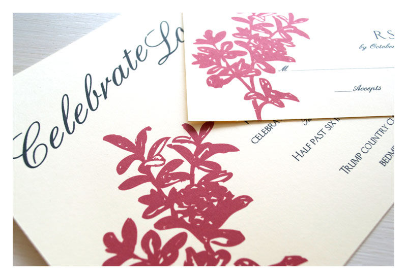 Celebrate Modern Wedding Invitations - product images  of