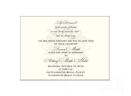 Classic and Elegant Damask Stationery Design - product images