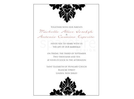 Traditional,Damask,Elegance,Stationery,Design,traditional damask, damask design, elegant, traditional, note cards, flat notes, half sheet stationery, invitations, party invites, shower invites, save the dates, thank you notes, wedding invites, wedding invitations, wedding day stationery