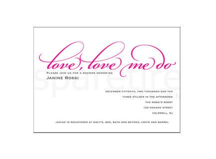 Love Love Me Do Stationery Design - product images