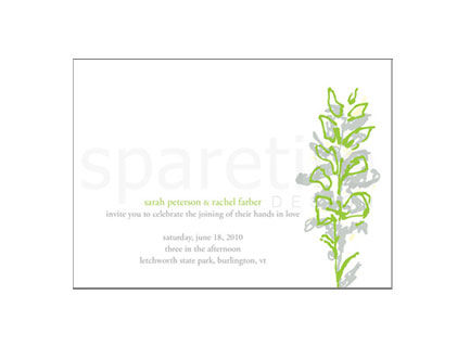 Hand Drawn Botanicals Stationery Design - product images