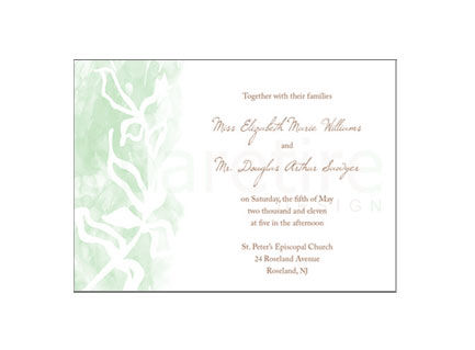 Botanical Watercolor Stationery Design - product images