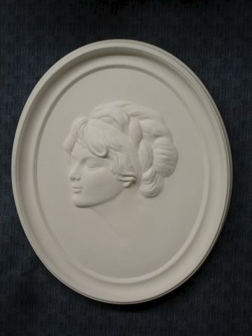 1920's,Lady,Plaque,in,Ready,to,Paint,Ceramic,Bisque,ceramic bisque,ready to paint,ceramics, bisque,kg krafts,duncan molds,lady flapper,plaque