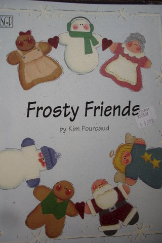 Frosty,Friends,by,Kim,Fourcaud,Frosty Friends,painting, Kim Fourcaud,decorative painting,kg krafts