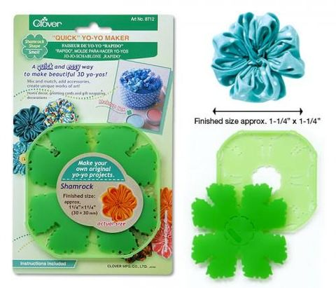Quick,Yo-Yo,Maker,Shamrock,Shape,Small,clover, templates, shamrock, kg krafts,craft supplies,craft supply