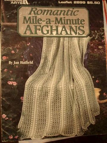Romantic,Mile-a-Minute,Afghans,by,Jan,Hatfield,leisure,arts,2899,Romantic mile a minute afghans, leisure arts 2899,crochet,knit,afghan,kg krafts,jan hatfield