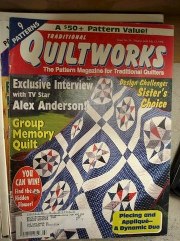 Traditional,Quiltworks,Issue,no.,56,July,1998,traditional quiltworks, quilting, patterns,quilt,kg krafts