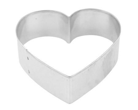 Heart,Shaped,Cookie,Cutter,5,inch,cookie cutters, heart, kg krafts, cookies,baking supplies,kitchen