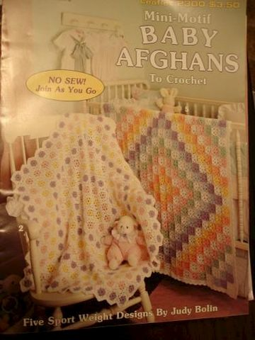 Mini-Motif,Baby,Afghans,to,Crochet,by,Judy,Bolin,mini motif baby afghans, knit, crochet,patterns