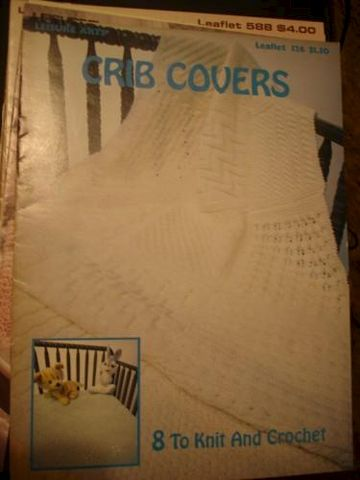 Crib,Covers,8,to,knit,and,crochet,#2,crib covers 8 to knit and crochet, baby afghans, leisure arts, kg krafts