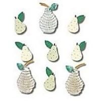 Jolees,Boutique,Jeweled,Pears,Stickers,from,EK,Success,Jolee's Boutique,  Jeweled Pears , Stickers, EK Success, scrapbooking, kg krafts, stickopotamus, card making