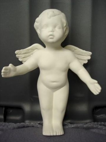 Hugging,Cherub,in,Ceramic,Bisque,ceramic bisque, cherub, angel, ready to paint,kg krafts