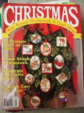 Christmas,Year,Round,Needlework,&,Craft,Ideas,July/Aug,1990,Christmas year round needlework and craft ideas,kg krafts,crochet,knit,counted cross stitch,quilting