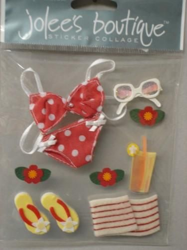 Beach Bikini Stickers from  Jolees Boutique - product images