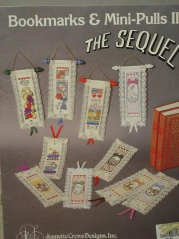 Bookmarks,and,Mini,Pulls,2,the,Sequel!,by,Jeanette,Crew,Designs,Jeanette Crew Designs, bookmarks, cross stitch, bell pulls,kg krafts,needlework