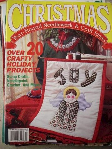 Christmas,Year,Round,Needlework,and,Craft,Ideas,Mar/April,1991,christmas, needlework and craft ideas, quilting, cross stitch, patterns, wood patterns
