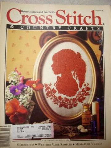 Better,Homes,and,Gardens,Cross,Stitch,Country,Crafts,S/O,1991,better homes and garden, cross stitch and country crafts, patterns
