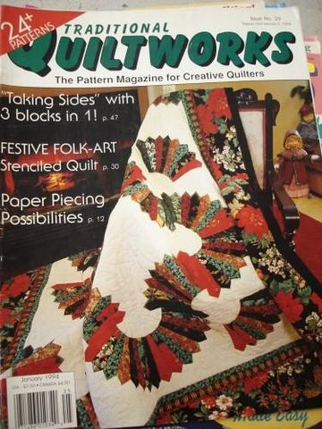 Traditional,Quiltworks,Issue,no,20,the,pattern,Magizine,for,Quilters,traditional quiltworks no 29, quilting, patterns, quilts,kg krafts