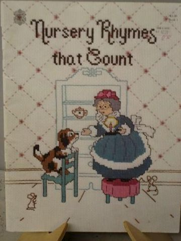 Nursery,Rhymes,that,Count,by,Gloria,and,Pat,counted,cross,stitch,cross stitch, gloria and pat, counted cross stitch, needlework, kg krafts, nursery rhymes