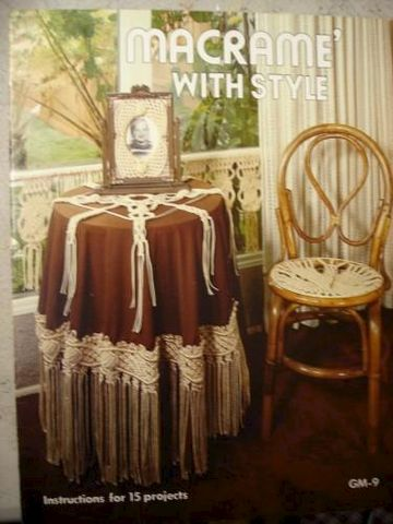 Macrame,with,Style,Instructions,for,15,Home,Decor,Projects,macrame, book, pattern, kg krafts