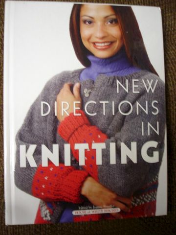 New,Directions,in,Knitting,by,House,of,White,Birches,New Directions in Knitting, House of White Birches, sweaters, vest, knit, crochet, yarn, book, magazine, patterns