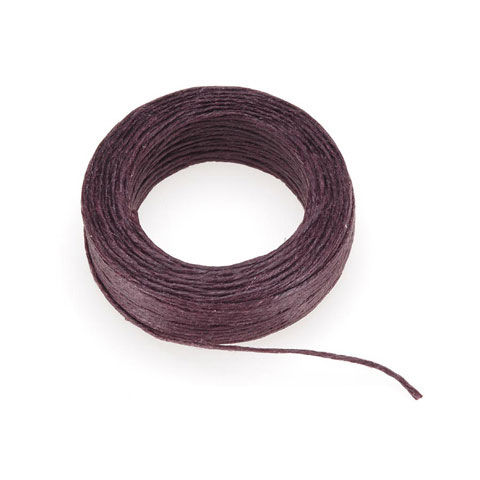 Waxed Linen Cord In Four Colors 4-ply - 25 yards - product image