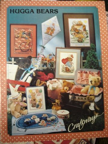 Hugga,Bears,Counted,Cross,Stitch,from,Craftways,Hugga Bears, Counted Cross Stitch,kg krafts,needlework,needlepoint,, crafts