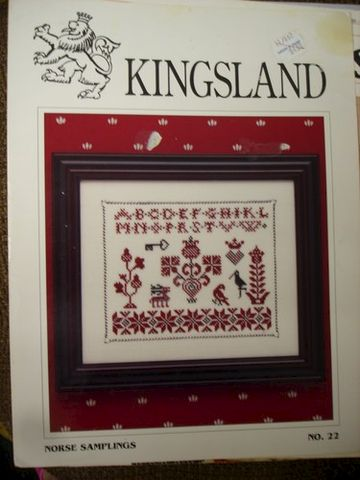 Kingsland,Norse,Samplings,No.,22,Counted,Cross,Stitch,Chart, Norse Samplings No. 22, Counted Cross , Chart,wichelt imports, needlearts,needlecraft,needlework,needlepoint,kg krafts, crafts,craft supplies