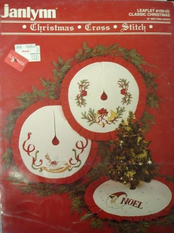 Janlynn,leaflet,109-02,Christmas,Cross,Stitch,CLassic, leaflet 109-02, Christmas, Cross Stitch ,CLassic Christmas,kg krafts, needlwork, needlepoint,counted cross stitch, patterns, crafts,craft supplies